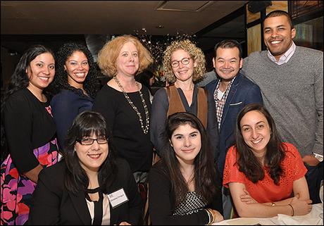 TDF'S Tory Bailey, Amy Irving and TDF Open Doors Graduates