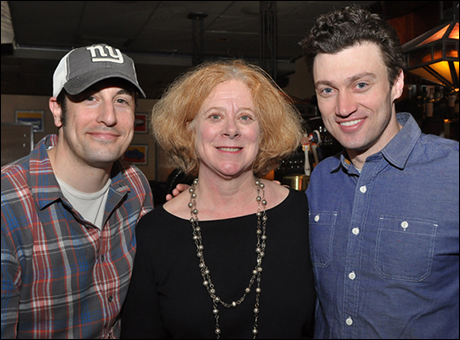Jason Biggs, Tory Bailey and Bryce Pinkham
