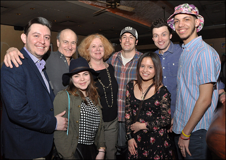 Peter Friedman, Tory Bailey, Jason Biggs, Bryce Pinkham and TDF Open Doors Graduates