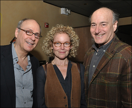 James Lapine, Amy Irving and Peter Friedman