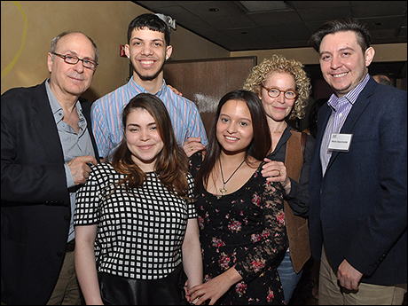 James Lapine and Amy Irving meet with TDF Open Doors Graduates