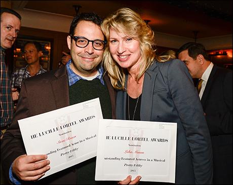 Steve Rosen and Luba Mason