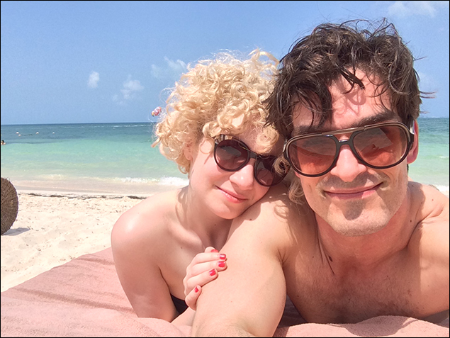 Paloma Garcia-Lee – Paloma and her husband Paul on vacation in Mexico City.