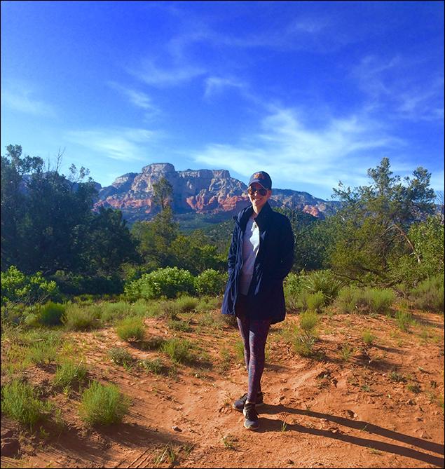 Kristine Covillo: Hiking in Sedona!