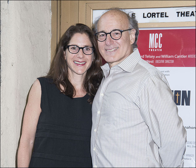 Anne Kauffman and Peter Friedman