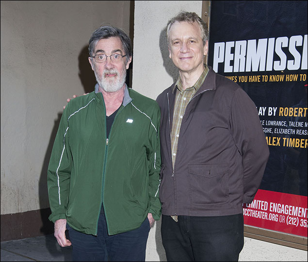 Roger Rees and Rick Elice