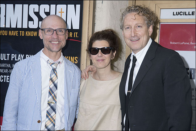Will Cantler, Marisa Tomei and Bernie Telsey