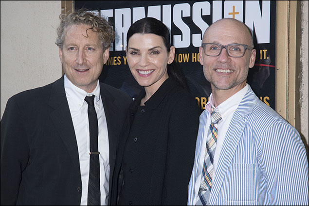 Bernie Telsey, Julianna Margulies and Will Cantler