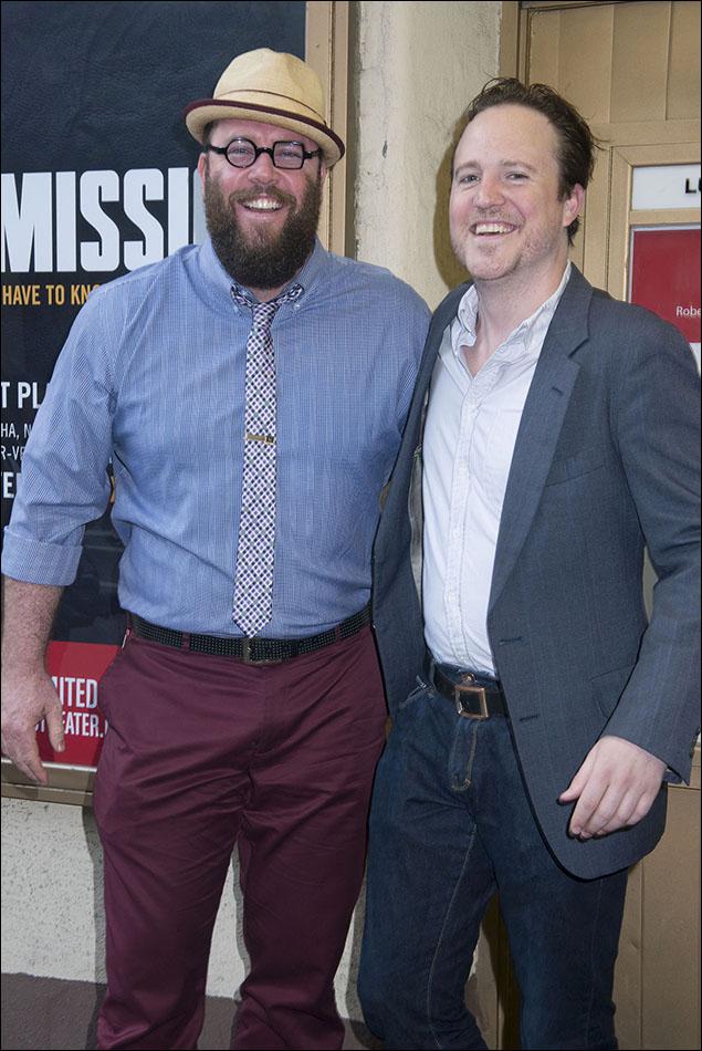 Chris Sullivan and Patch Darragh