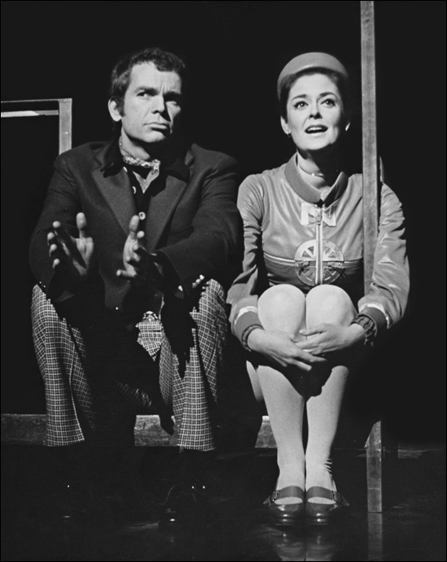 Dean Jones and Susan Browning in Company.