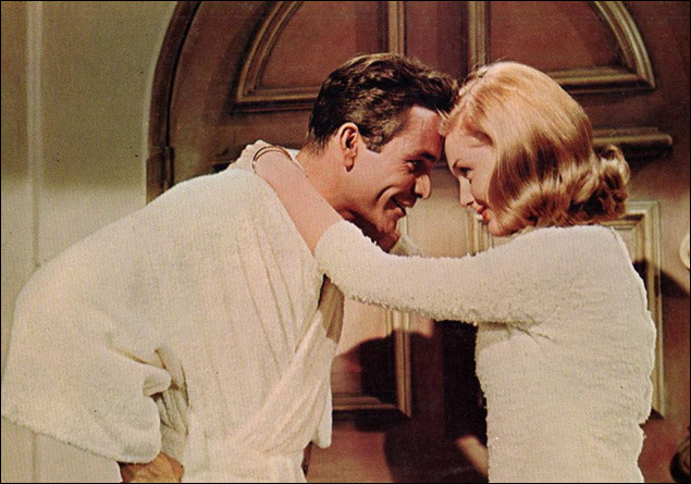 Dean Jones and Carol Lynley in the film version of Under The Yum-Yum Tree in 1963.