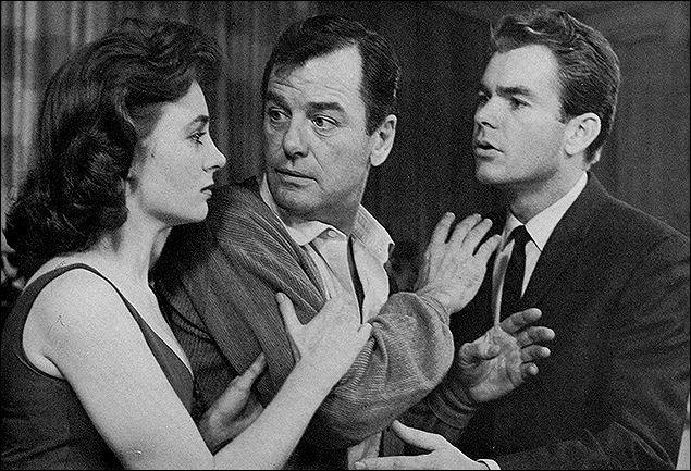 Sandra Church, Gig Young and Dean Jones in Under The Yum-Yum Tree.