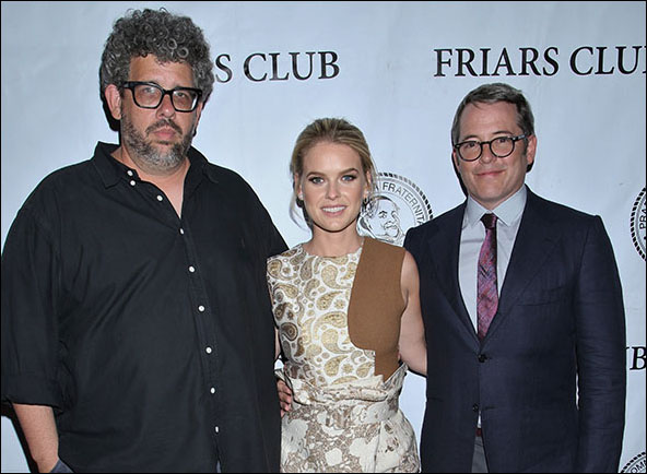 Neil LaBute, Alice Eve and Matthew Broderick