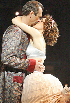 Juan Chioran and Chilina Kennedy in Kiss Me, Kate