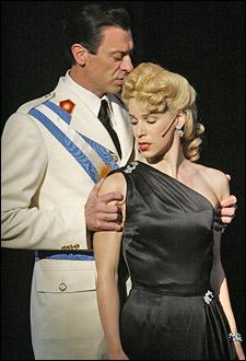 Juan Chioran and Chilina Kennedy in Evita