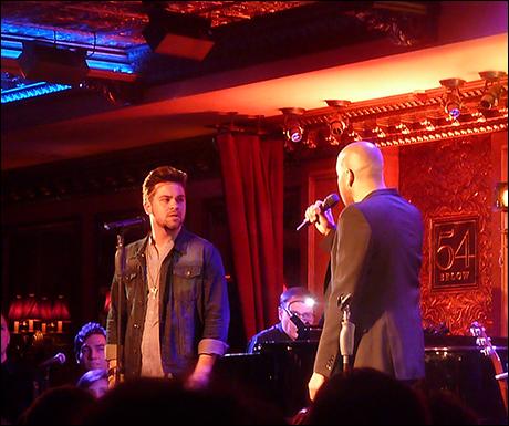 "Ricky Alan Saunders and Darius De Haas sing ""Lost in the Wilderness"""
