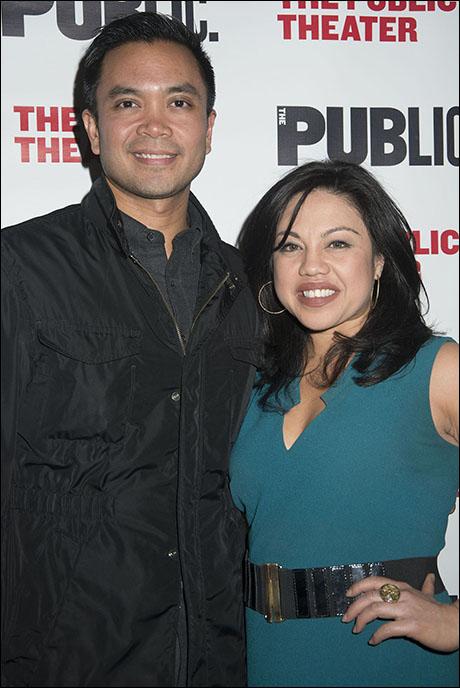 Jose Llana and Maria-Christina Oliveras