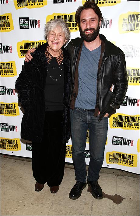 Estelle Parsons and Marco Calvani