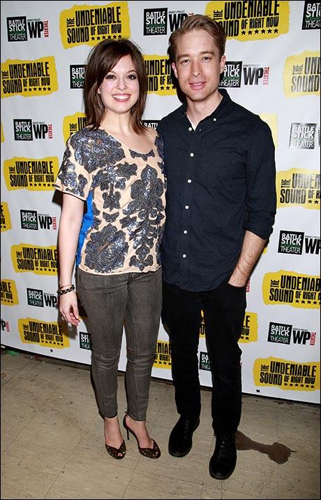 Margo Seibert and Chris Kipiniak