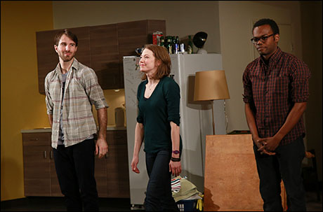 Alex Hurt, Carrie Coon and William Jackson Harper