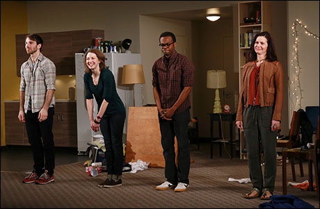Alex Hurt, Carrie Coon, William Jackson Harper and Florencia Lozano