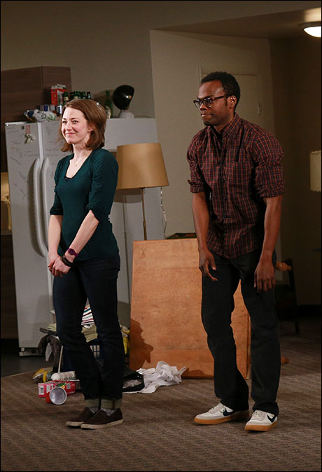 Carrie Coon and William Jackson Harper