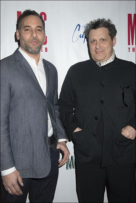 Alexander Dinelaris and Isaac Mizrahi
