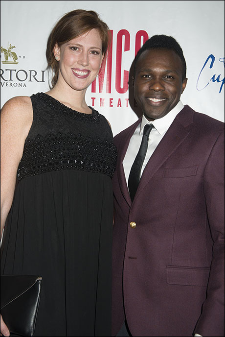 Cathryn Stringer and Joshua Henry