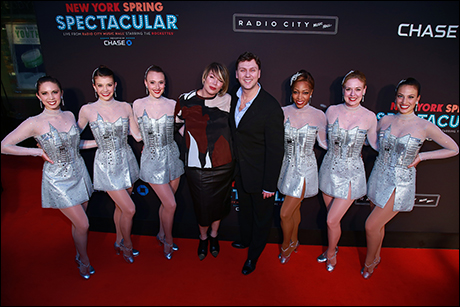 Warren Carlyle, Mia Michaels and The Rockettes