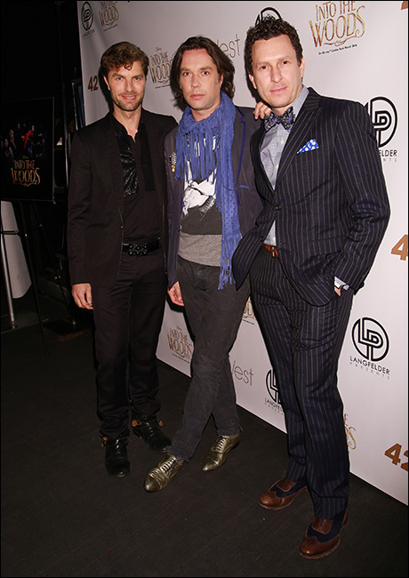Lance Horne, Rufus Wainwright and Jacob Langfelder