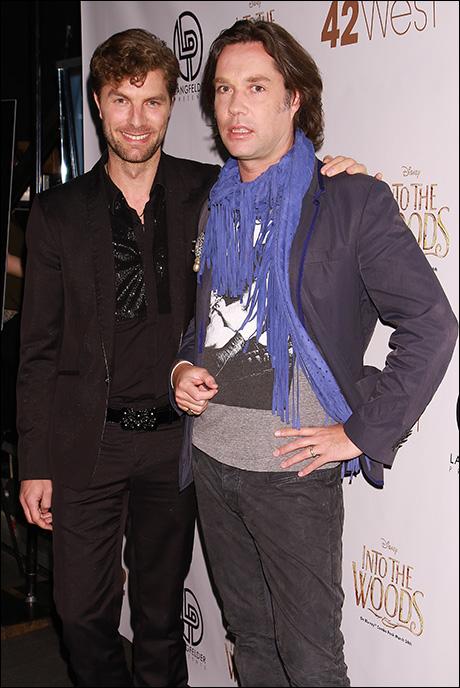 Lance Horne and Rufus Wainwright