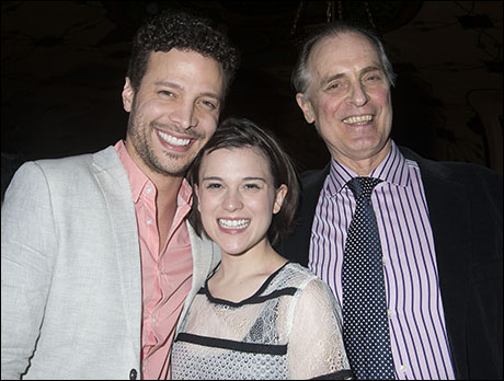 Justin Guarini, Alexandra Socha and Keith Carradine