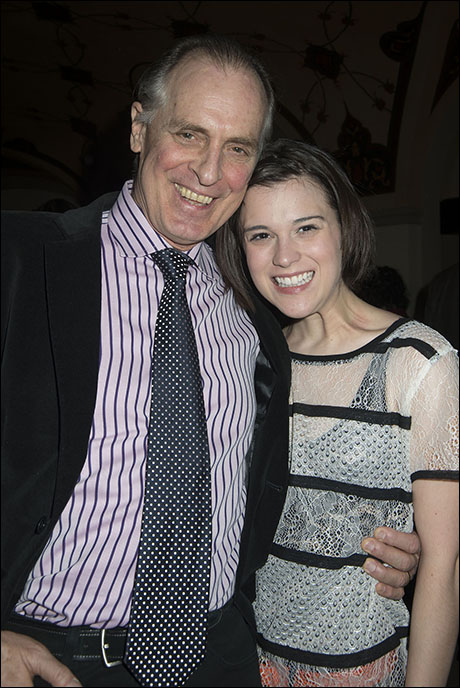 Keith Carradine and Alexandra Socha