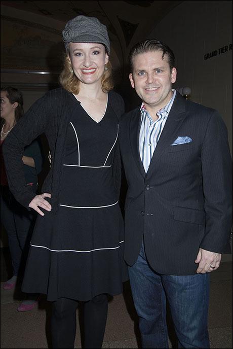 Melissa van der Schyff and Robert Creighton