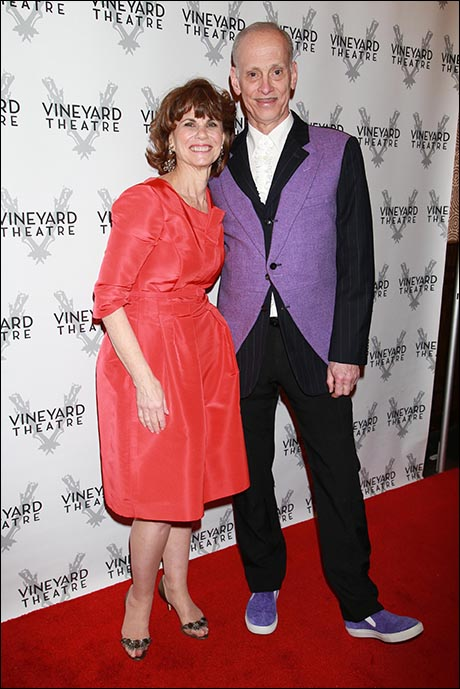 Margo Lion and John Waters