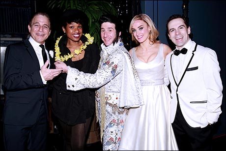 Tony Danza, Jennifer Hudson, David Josefsberg, Brynn O'Malley and Rob McClure