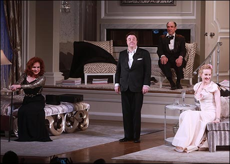 Stockard Channing, Nathan Lane, F. Murray Abraham and Katie Finneran