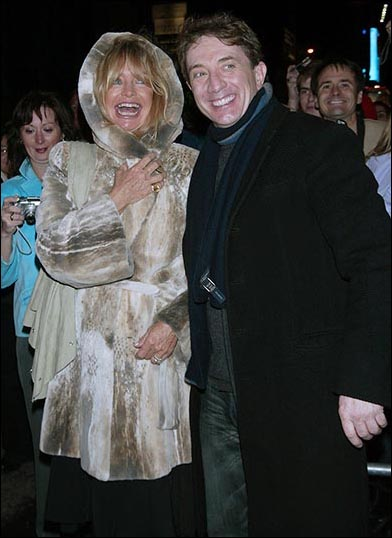Goldie Hawn and Martin Short