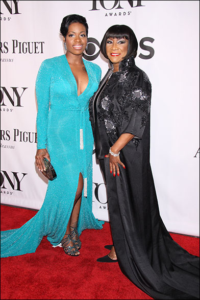 Fantasia Barrino and Patti LaBelle at the 2014 Tony Awards