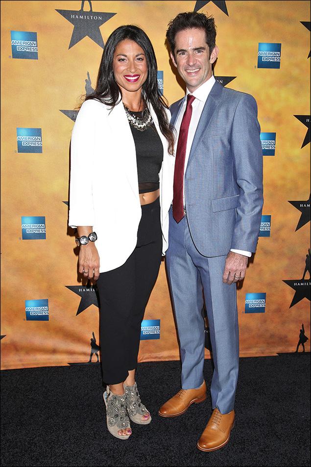 Choreographer Andy Blankenbuehler and Associate Choreographer Stephanie Klemons