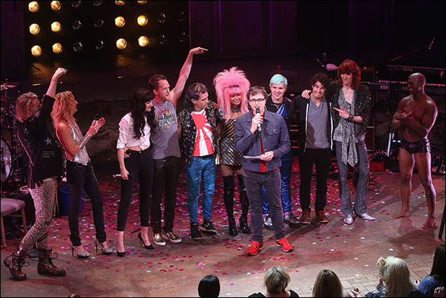 Shannon Conley, Lena Hall, Neil Patrick Harris, Rebecca Naomi Jones, Darren Criss, Taye Diggs, the Angry Inch and Stephen Trask