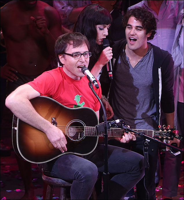 Stephen Trask, Lena Hall and Darren Criss