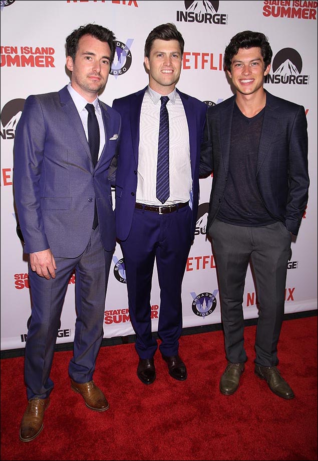 Rhys Thomas, Colin Jost and Graham Phillips