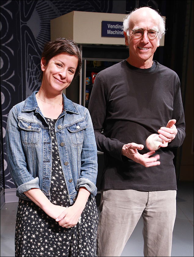Anna D. Shapiro and Larry David