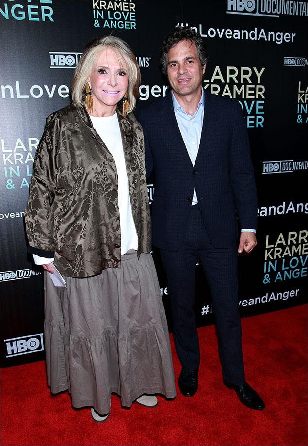Sheila Nevins and Mark Ruffalo