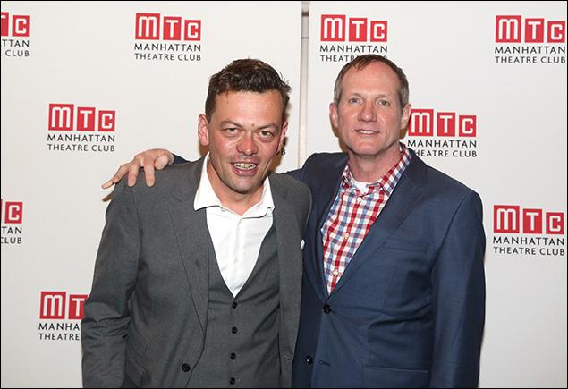 Simon Stephens and Mark Brokaw