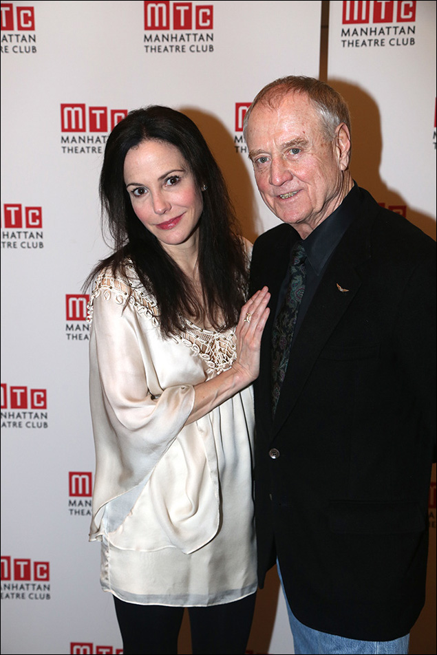 Mary-Louise Parker and Denis Arndt