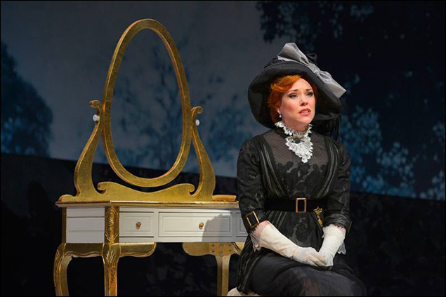 Emily Skinner in The 2015 American Conservatory Theater's production of A Little Night Music.