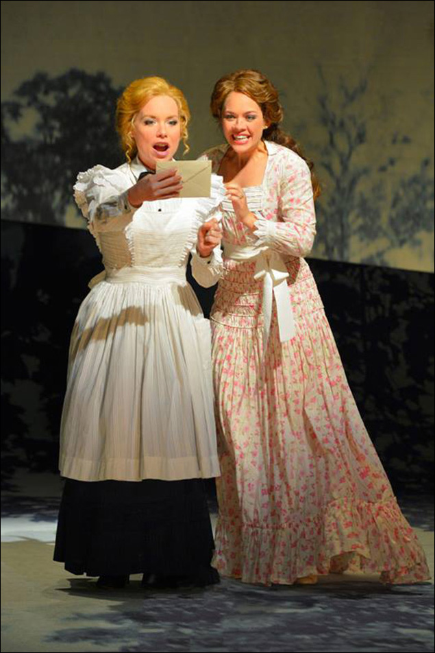 Marissa McGowan and Laurie Veldheer