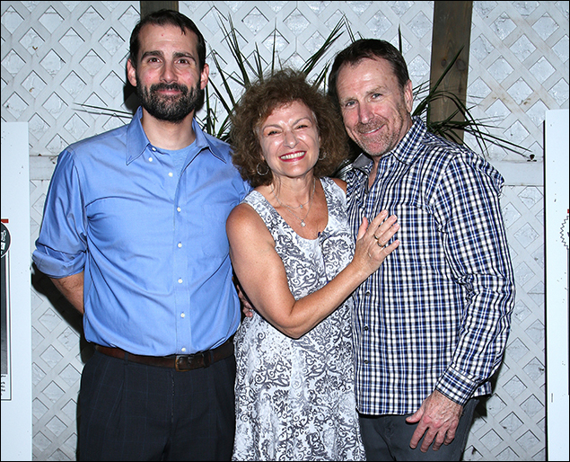 Mike Lavoie, Angelina Fiordellisi and Colin Quinn